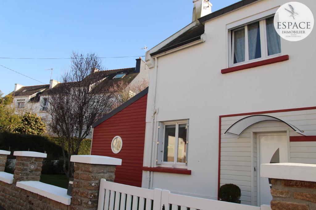À vendre à Concarneau maison 5 pièces centre-ville à p...