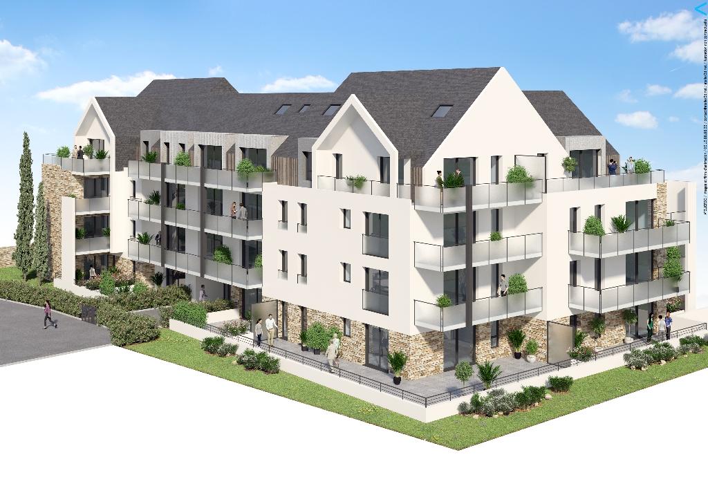 A vendre à Concarneau L'Hermine - Appartement duplex 4 pi...